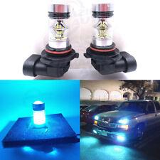 9006 HB4 CREE LED Fog Light Bulbs Conversion Kit Canbus 8000K Ice Blue 55W