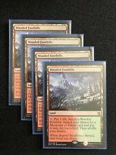 Wooded Foothills - Khans of Tarkir - 4X NM MTG FetchLand Green Red Mint