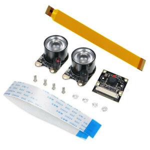 1080p 5MP Night Vision Camera Module w/ Infrared Light for Raspberry Pi Zero W