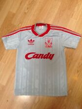 Liverpool Away Shirt 1988 1989. Candy. Adidas. Large. Boys.