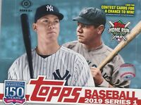 2019 Topps Series 1 MLB Base Card Complete Team Sets - Pick your Baseball team!