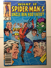 What If? Comic Book #46 Spiderman Marvel Comics (1984) VF/NM, News Stand Variant
