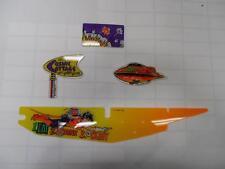 Party Zone Pinball Machine Rare Set Of 4 Plastics : Mr Pinball Rare Parts