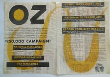 WIZARD OF OZ - 1939 Trade Magazine 2-Page Ad - Advertising - Original Review