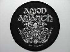 AMON AMARTH CIRCLE  WOVEN  PATCH