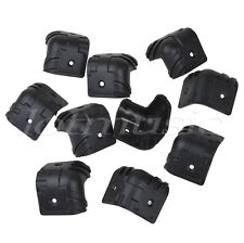 10pcs Black Plastic Guitar Amp Amplifier Speaker Cabinet Corner Protectors L