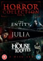 Nuovo The Entity / Julia - Angel Of Vengeance/The Casa Con 100 Occhi DVD