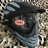 NEW JT Flex 8 Full Coverage Thermal Paintball Mask Helmet Goggle - Black/Grey