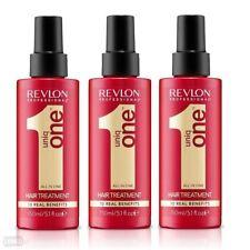 3 x Revlon Uniq One All in One Hair Treatment 150 ml Set