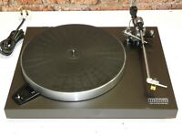 Luxman P264 Direct Drive Vintage Record Vinyl Deck Player Turntable + Cartridge