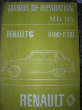 RENAULT 6 - R6 MANUAL REPARACIONES 145 ORIGEN DE LA ÉPOCA