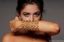 MAPAPALO Shéhérazade bracelet en or végétal. Luxe armband, plantaardig goud.