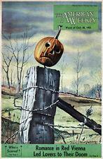 Clarence Carter Halloween American Weekly PUMPKIN HEAD Juanita Quigley DINOSAURS