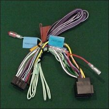 Kenwood dnx521vbt dnx-521vbt Dnx 521vbt Potencia Telar arnés de cableado Plomo Cable ISO