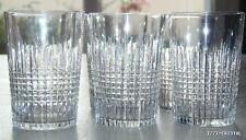 ANCIENNES GRAND 6 verres gobelets cristal BACCARAT NANCY signée crystal glasses