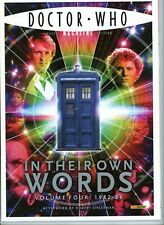 Dr Doctor Who Magazine - Special Edition #18 In Their Own Words Volume 4 1982-86