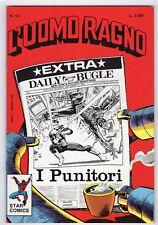fumetto L'UOMO RAGNO STAR COMICS MARVEL numero 14
