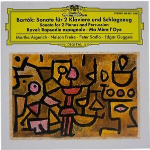 BARTOK / RAVEL Works For 2 Pianos & Percussion/Spanish Rhapsody CD DGG Slipcase