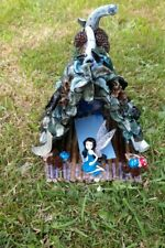 Magical handcrafted bespoke FAIRY or PIXIE HOUSE CHRISTMAS
