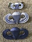1970s US Army Parachute Qualification Badges  Lot West Point Graduate Maker MarkMedals, Pins & Ribbons - 36063