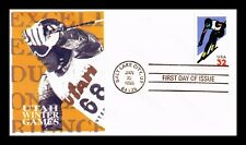 US COVER DOWNHILL SKIING UTAH WINTER GAMES FDC SEALED