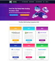 Web Hosting Review website - Great Affiliate Income Free Hosting  / Installation