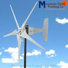 Freedom 24 Volt 5 Blade 1700 Watts Max Wind Turbine Generator Gray Blades