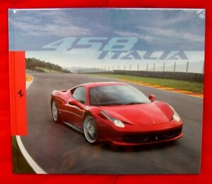 Ferrari 458 Italia - RARE Full Colour Hardback Brochure - 2009 - Ital/Eng Text
