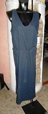 abito vestito ragazza signora  blitz tg.56/XXXL col. blu/scuro in viscosa/cotone