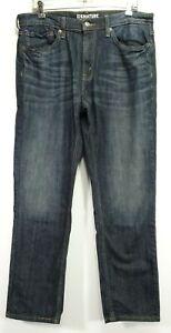 New Signature Strauss Mens S67 Premium Athletic Stretch Denim Jeans 34 x 32