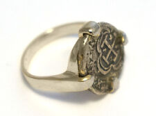 ATOCHA Ring Ladies 925 Sterling Silver Sunken Treasure Coin Jewelry