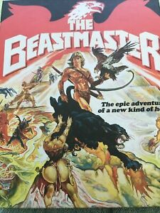 The Beastmaster Blu Ray/ 4k UHD Ltd Edition Vinegar Syndrome Region Free Oop