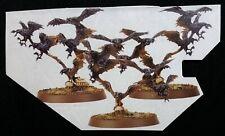 Endless Spells Beasts Chaos RAVENING DIREFLOCK Warhammer Age of Sigmar Razorwing