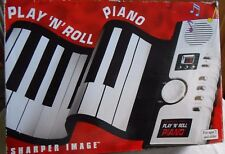 Sharper Image 49 Key Play 'n' Roll Electronic Piano W / AC Power Supply  NEW