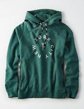 NWT MENS AMERICAN EAGLE  AEO Actice Fleece Graphic Pullover Hoodie Sweatshirt L