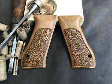 Jericho 941F, 941Fs Turkish Walnut Wood Grips. Handmade. Us Based Seller