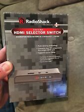 RadioShack 2-In/1-Out HDMI Selector Switch...(New/Never Used)