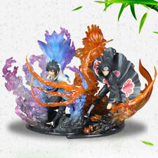 F-zero Naruto Uchiha Itachi&Uchiha Sasuke Pvc Figures Model Collection Toys 22cm