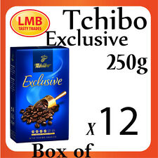Tchibo Exclusive 250g [box of 12]-Highest Quality ground coffee - Best Price