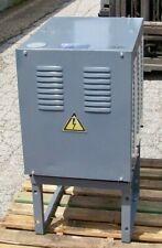 39 Kva at 220 volt 36.8 Kva at 400 volt 2.2 kva at 100 to 110 volt transformer