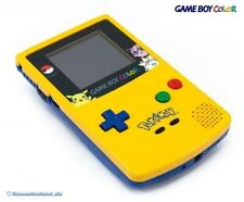 Nintendo GameBoy Color - console #Limited Pokemon Yellow & Blue Edition utilisé