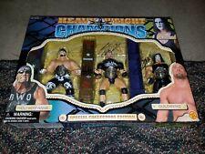 Hulk Hogan/ Goldberg/ Sting Figure Special Edition WCW Heavyweight Champ*Signed*