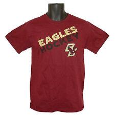 Boston College Eagles Hockey Step Ahead Angle Maroon T-Shirt - XLarge