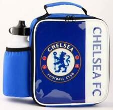 Chelsea FC Vertical Lunch Bag/Box and 600ml Bottle Set   Chelsea Lunchbox