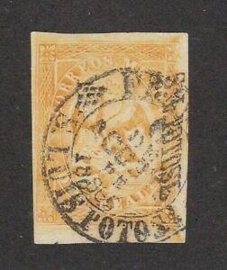 Mexico #23 Period 5 Consignment 28-1866 only 4,000 sent SLP