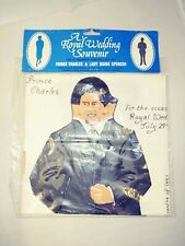 Prince Charles And Lady Diana Spencer sew your own Rag Doll Kit