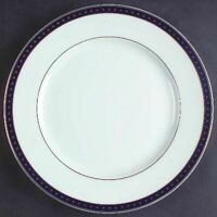 "Christofle ""Babylone Bleu""  Bread & Butter Plate   (NEW)"