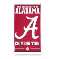 """McArthur University of Alabama Fiber Reactive Beach Towel 30"""" x 60"""" new"""