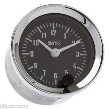 Smiths Analogica TIME CLOCK, 52 mm Nero Viso con cromo, Mini, MG, GAE128X
