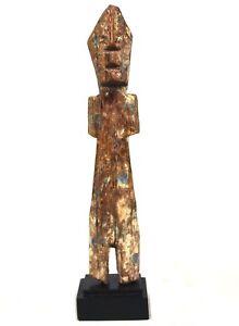 Art Africain Arts Premiers Tribaux - Fétiche Adan Aklama sur Socle - 21 Cms ++++